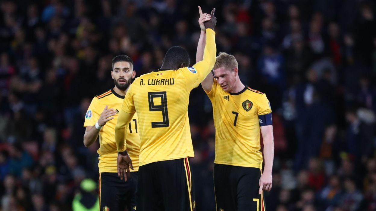 Écosse Scotland 11-06-2019 Qualifications Euro 2020 Belgique Ticket
