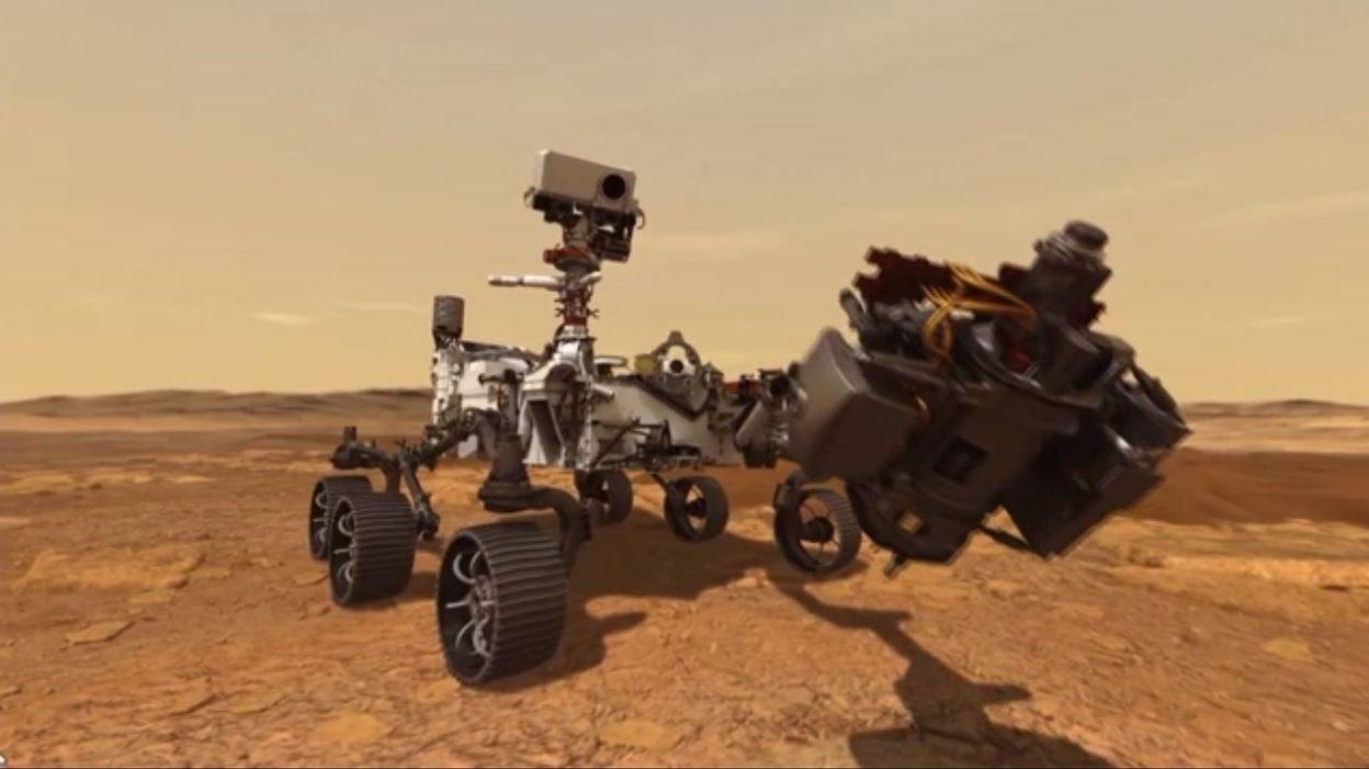 La toute première sonde spatiale arabe arrive en orbite de Mars, mais elle n'est pas la seule - RTBF