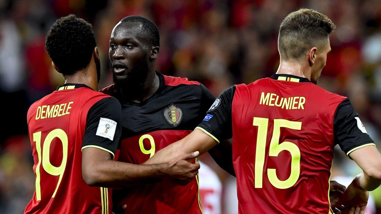 Les diables rouges vainqueurs 1 2 en gr ce sont qualifi s pour la coupe du monde - Vainqueurs coupe du monde ...
