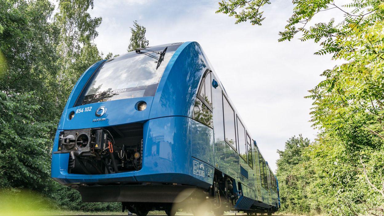 Le train à hydrogène, une alternative écologique aux trains diesel