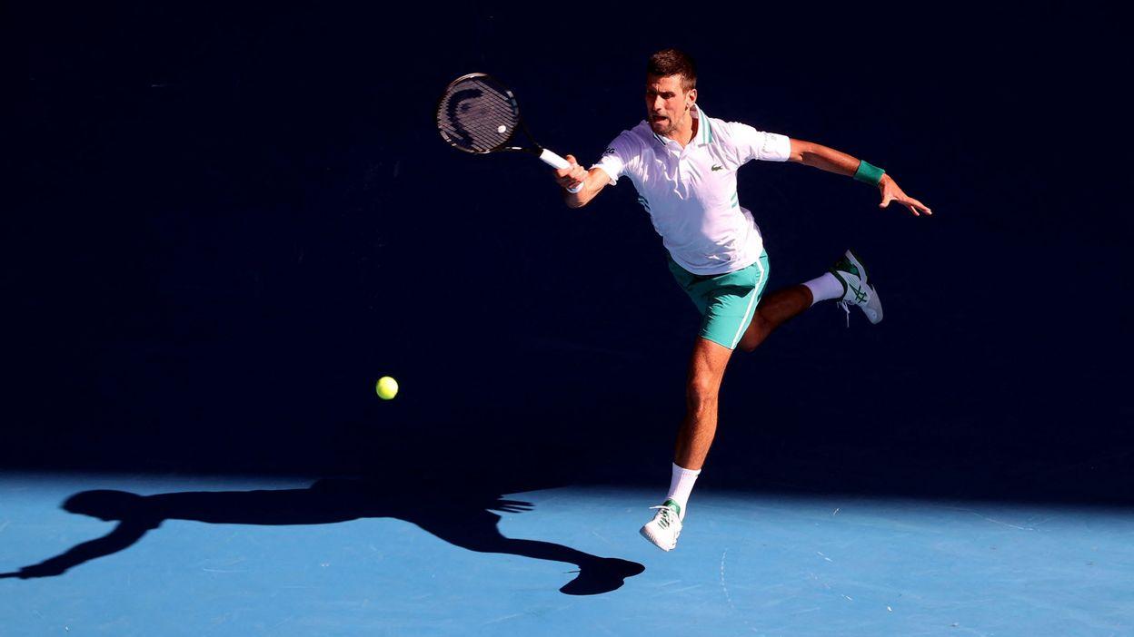 Sport Open d'Australie : Novak Djokovic malmené, mais qualifié pour le troisième tour - RTBF