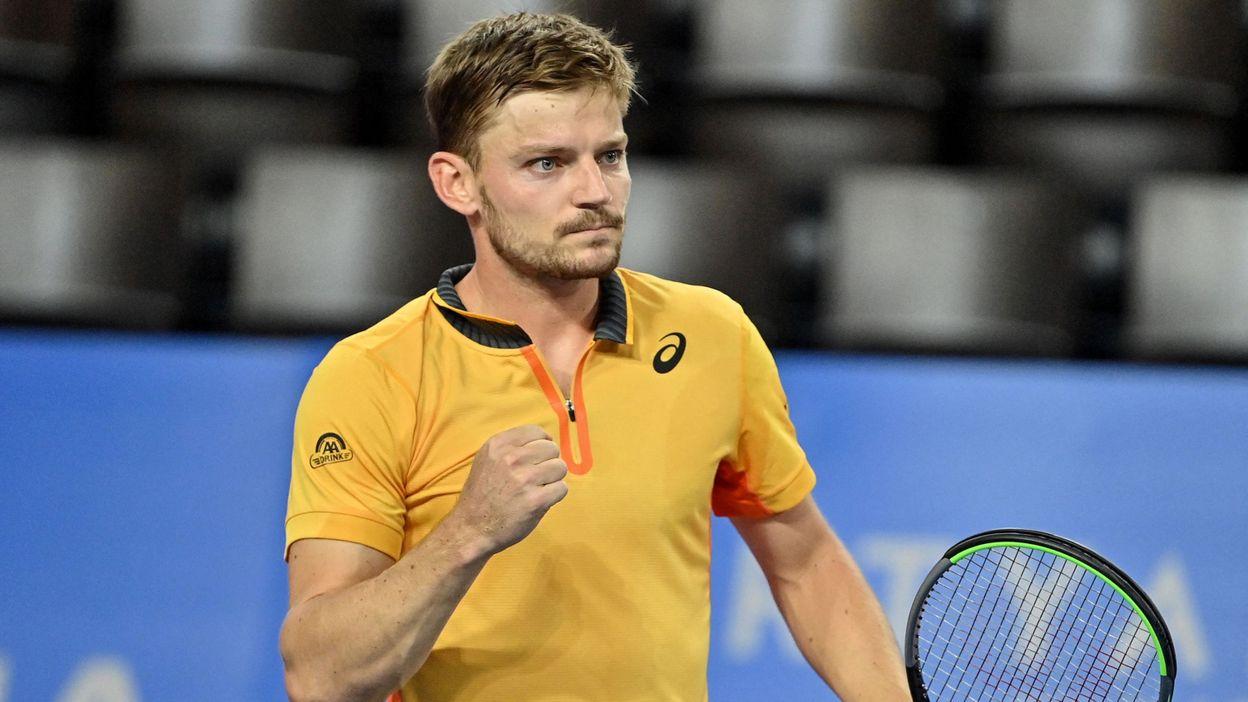 14h22 ATP Rotterdam : Un David Goffin sérieux se qualifie facilement pour le deuxième tour - RTBF