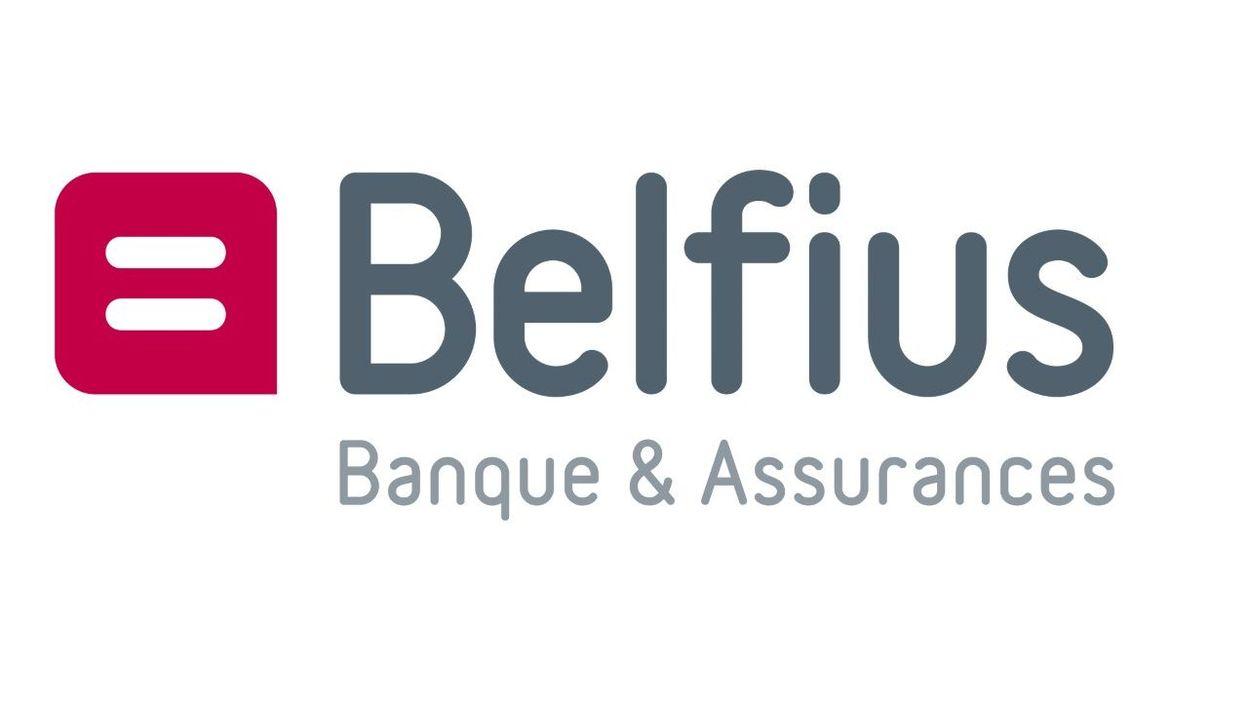 Logo de la Banque Assurance Belfius.