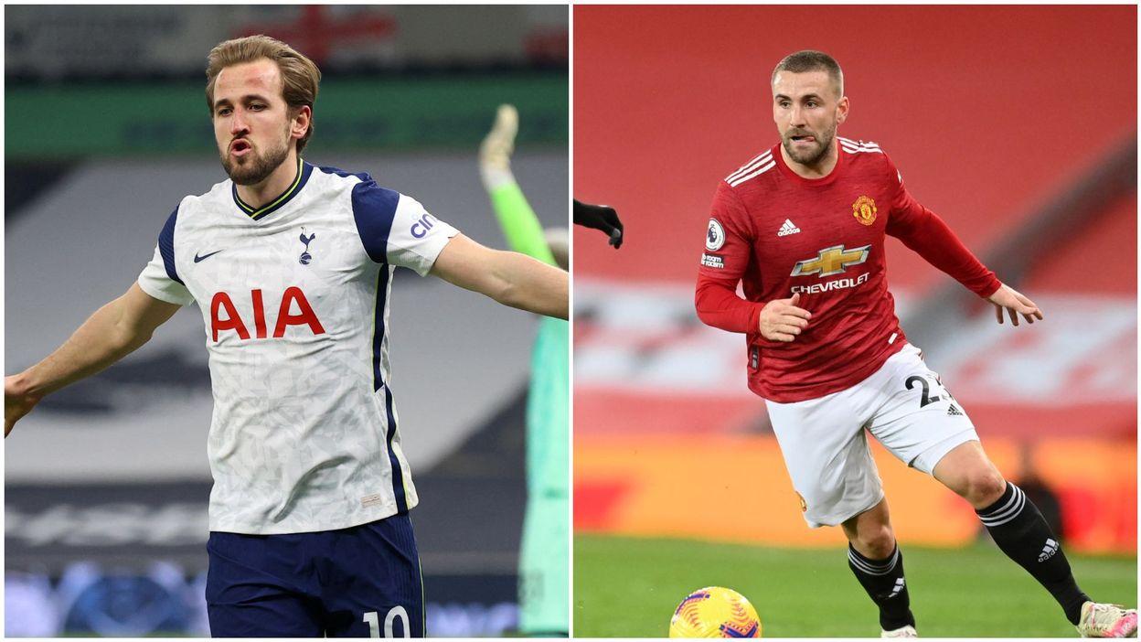 Premier League : La frappe somptueuse de Kane, le slalom inattendu de Shaw - RTBF