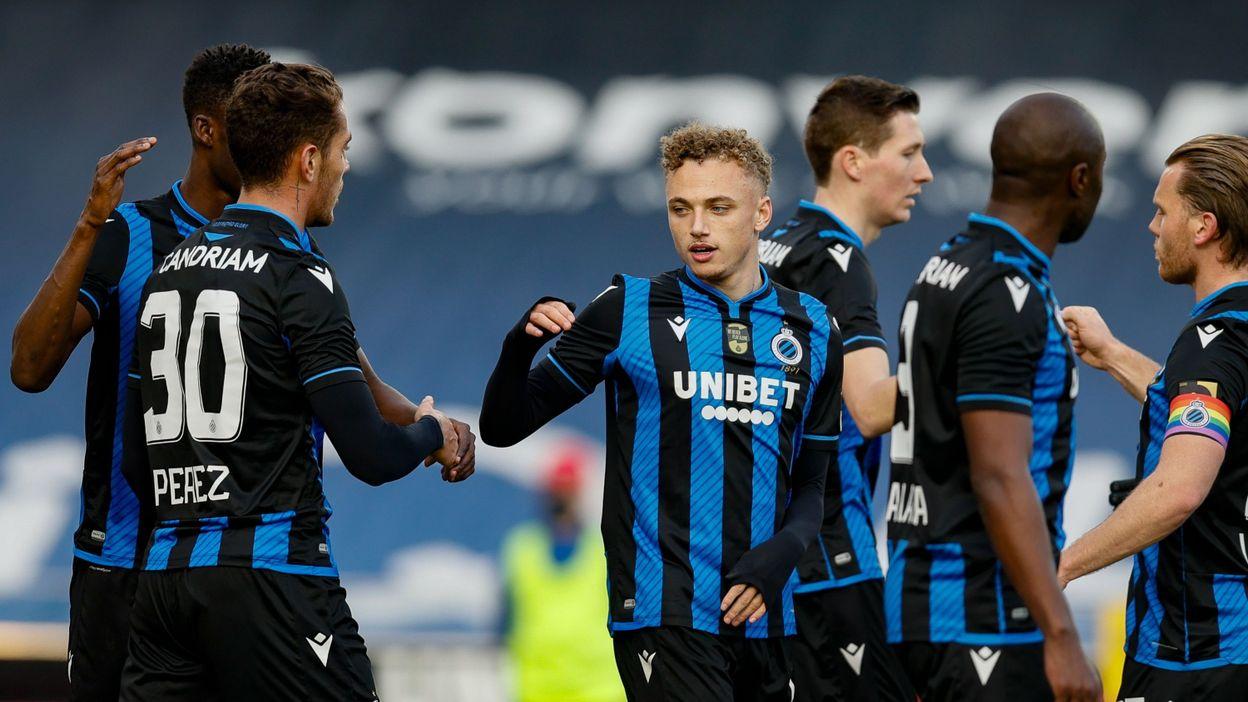 Pro League : Bruges signe un 10e succès de suite en dominant Zulte Waregem - RTBF