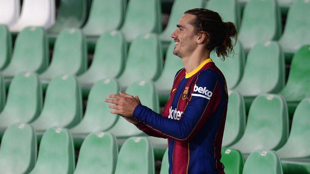 Les amateurs de Mâcon encouragés par trois stars du Barça en Coupe de France :