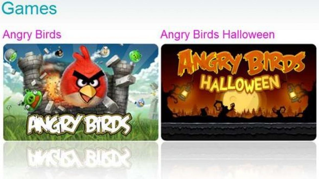 L 39 engouement pour le jeu angry birds s 39 tend - Jeu info angry birds ...