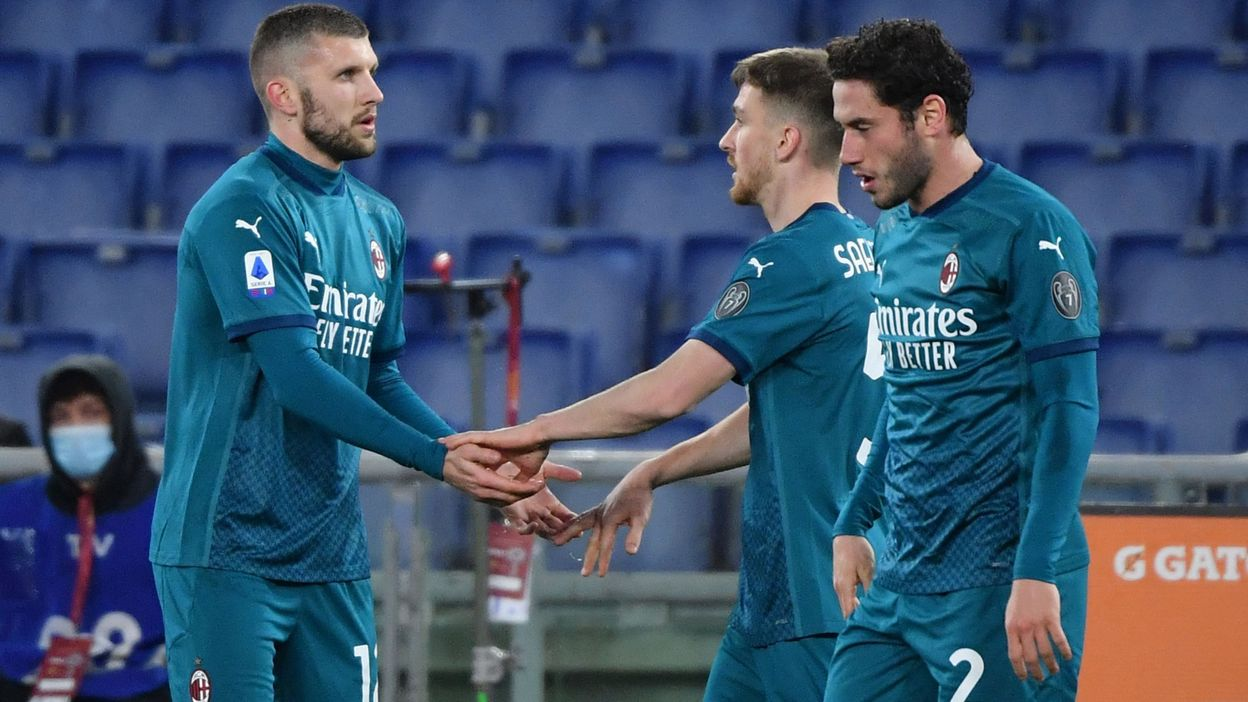 Saelemaekers à l'assist pour la victoire de Milan face à Rome - RTBF