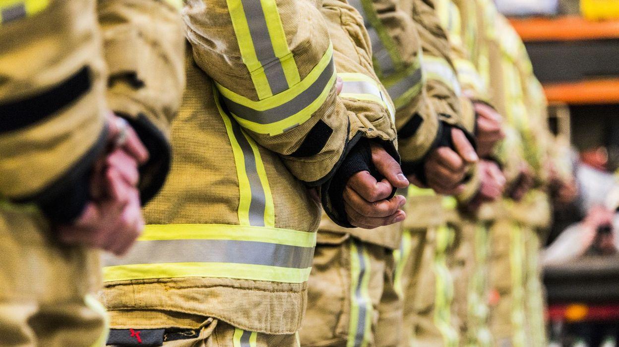 Les pompiers brabançons wallons sollicités pour l'évacuation d'un train à Chastre