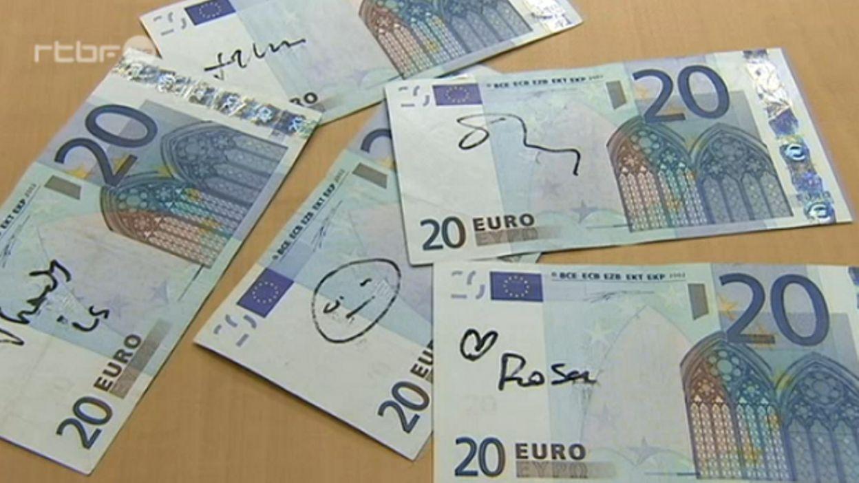 billet de banque manque un morceau