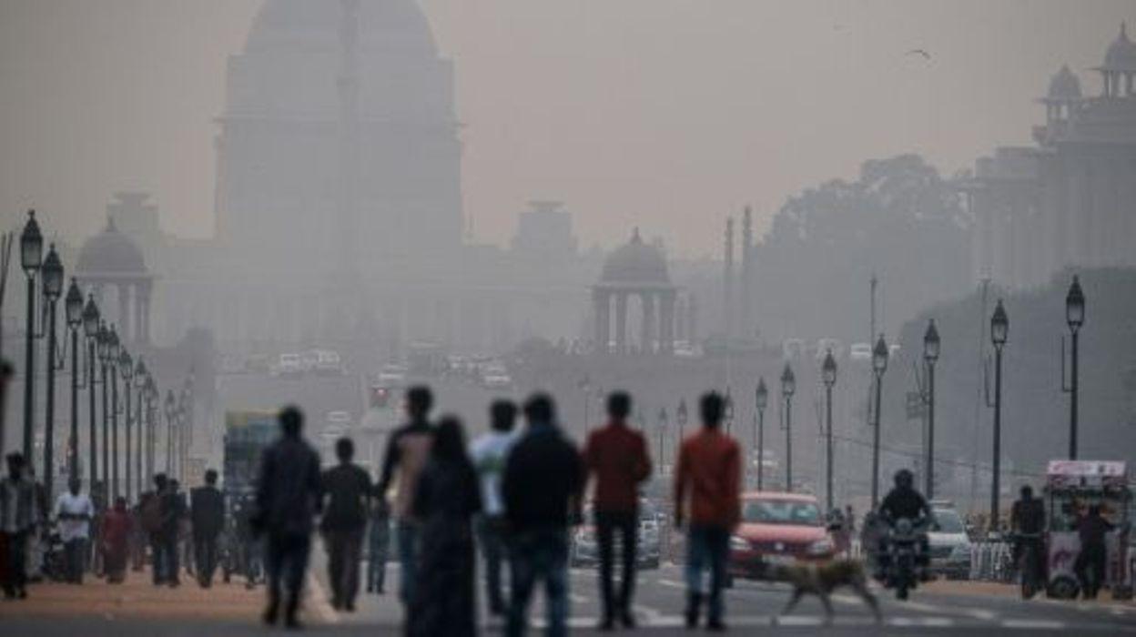 pollution new delhi va exp rimenter la circulation altern e d s janvier. Black Bedroom Furniture Sets. Home Design Ideas