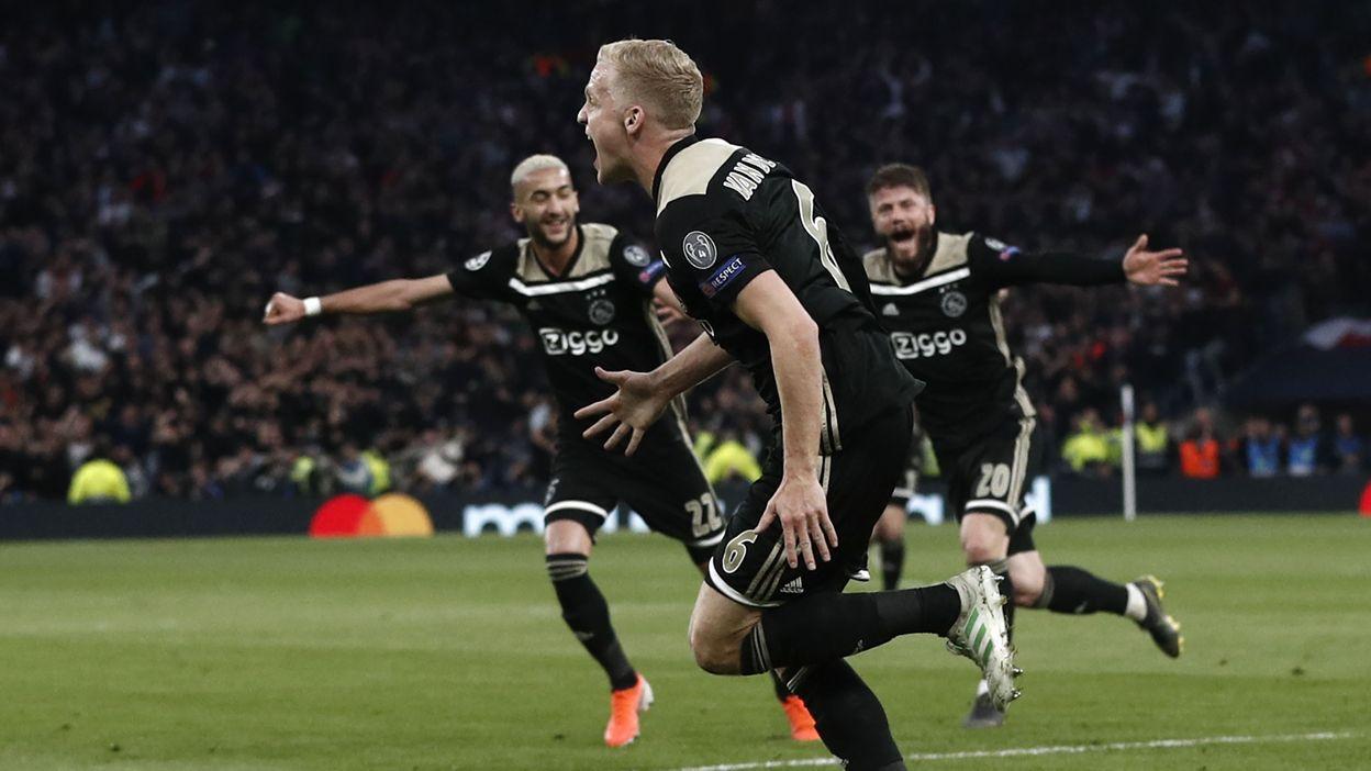"""Résultat de recherche d'images pour """"Tottenham 0:1 Ajax"""""""