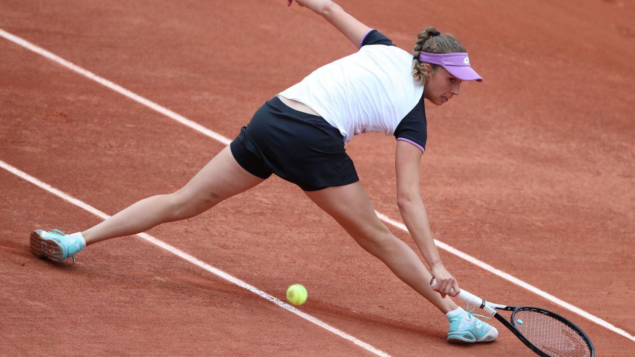 Roland-Garros : premier set perdu pour Elise Mertens contre Maria Sakkari (7-5) (Direct vidéo)