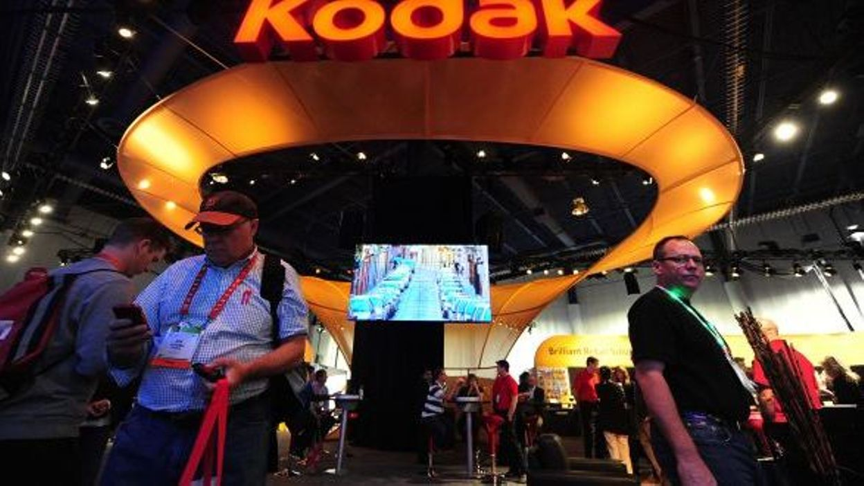 """""""Clic-clac Kodak"""" c'est fini, Kodak n'a pas cru au numérique"""