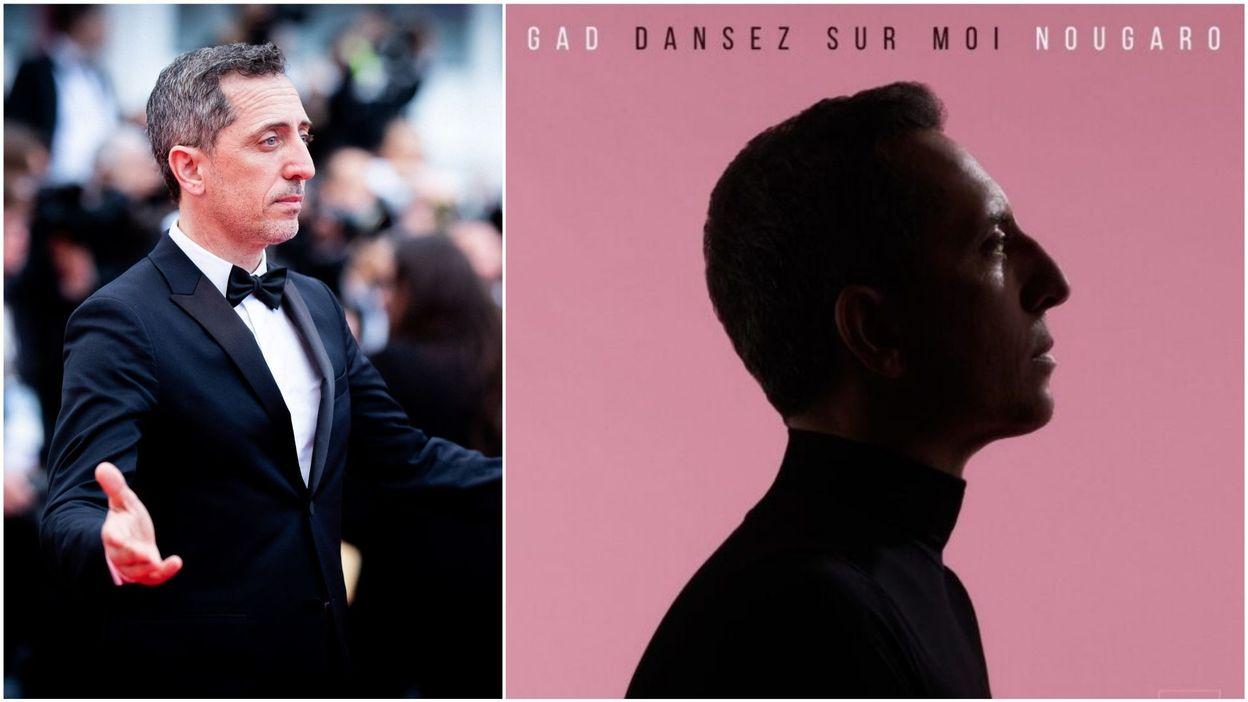 Vivacité Gad Elmaleh : son album en hommage à Claude Nougaro sous le feu des critiques - RTBF