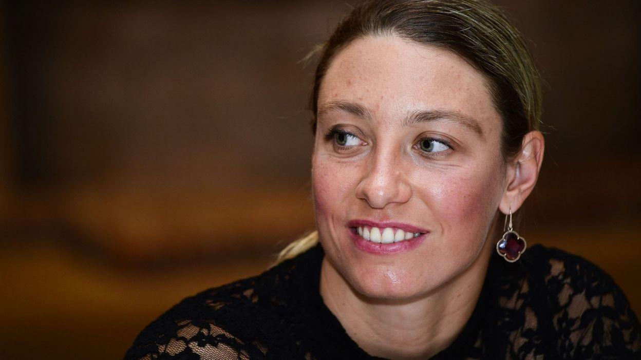 Yanina Wickmayer, enceinte de son premier enfant :