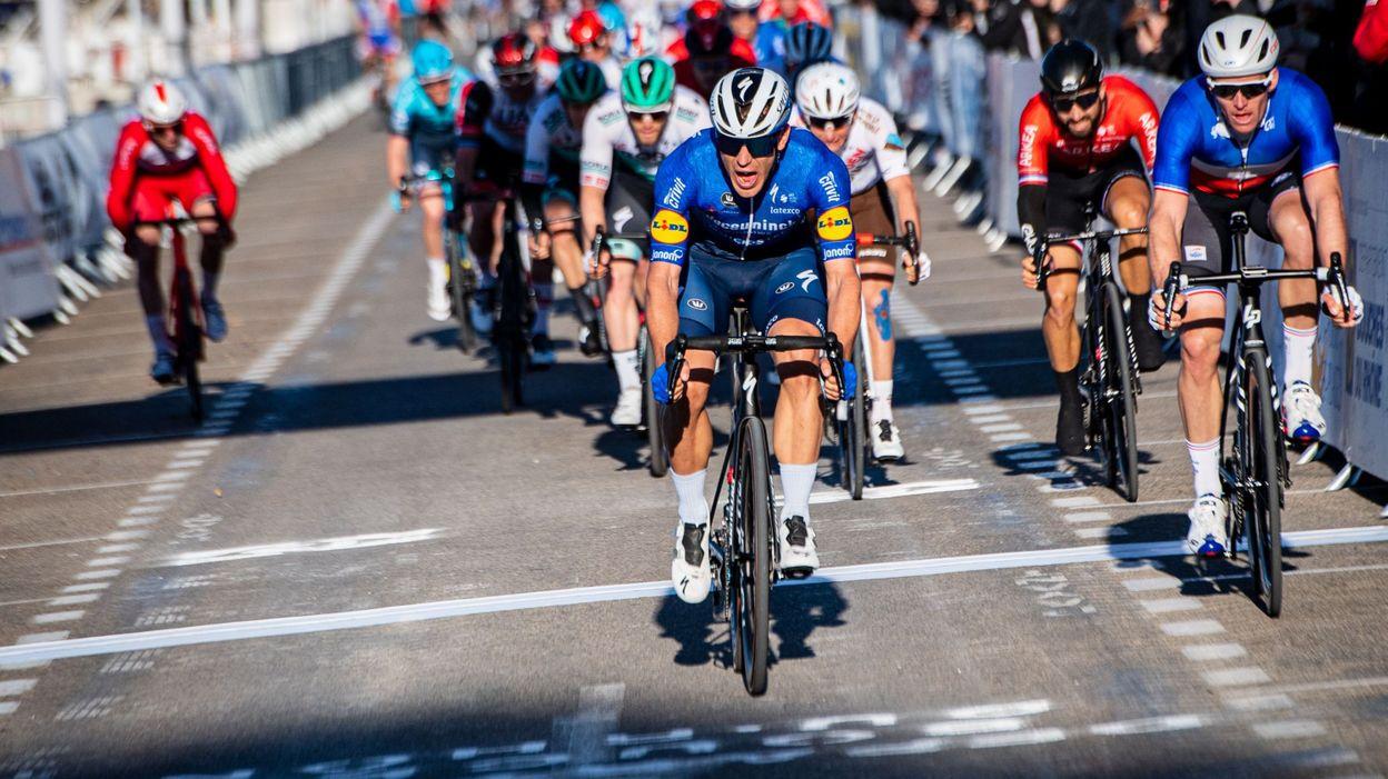 Sport Tour de La Provence : Davide Ballerini s'impose encore, Alaphilippe chute - RTBF