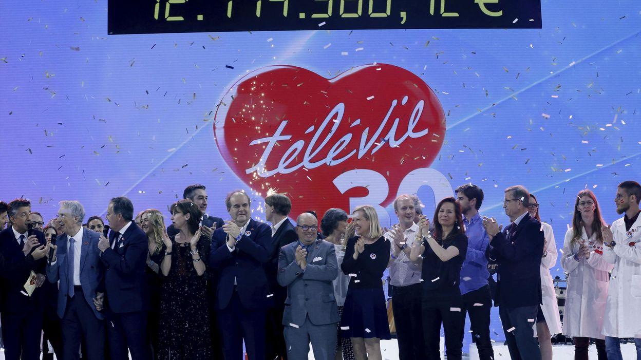 Nouveau record pour le Télévie qui récolte 12,1 millions d'euros pour sa 30e édition