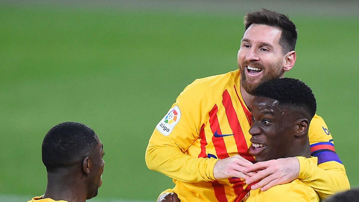 Qui est Ilaix Moriba, le nouveau crack buteur avec le Barça et star de Football Manager ? - RTBF