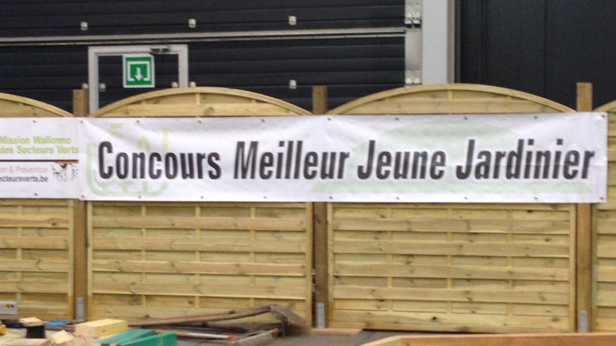 Halles des foires de li ge 21 jeunes s 39 affrontent au for Jardinier belgique