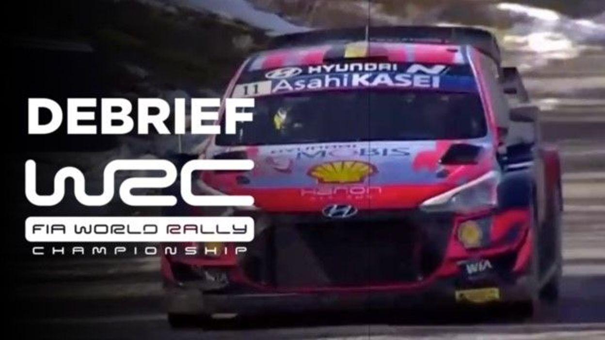 Sport WRC Arctic, débriefing du vendredi : Tanak a les crocs, Neuville se règle, Ogier galère - RTBF