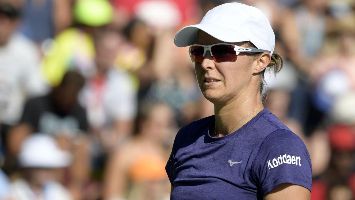 Kirsten Flipkens en quarts de finale à Moscou