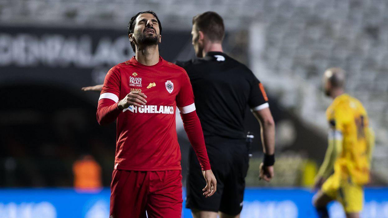 Pro League : Le Beerschot n'a pas dit son dernier mot, l'Antwerp patauge face à Saint-Trond - RTBF
