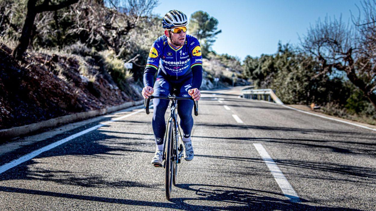 Sport Le retour de Mark Cavendish avec Deceuninck - Quick-Step, ce sera dimanche à Almeria - RTBF