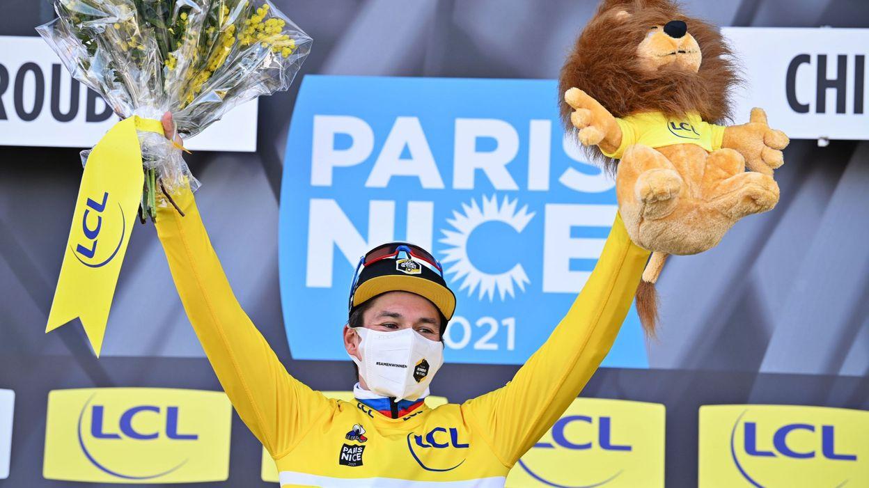 Paris-Nice : le classement de la 4e étape et le général - RTBF