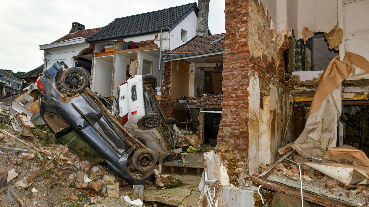 Inondations : Les sinistrés non-assurés peuvent introduire leur demande d'aide à la Région wallonne