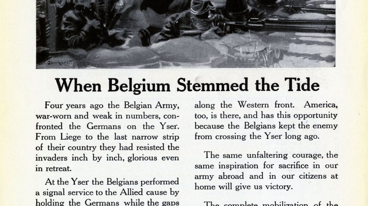 Technical progress and the Great War : the Belgian front - Military