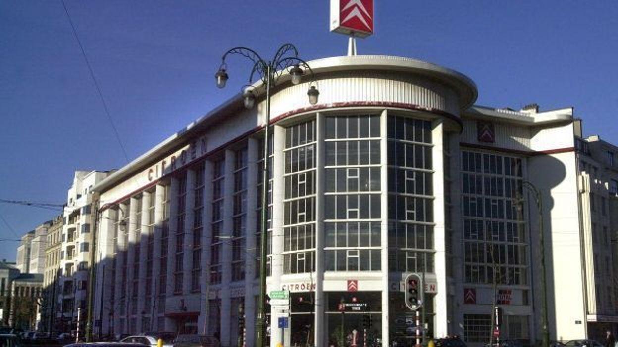 Bruxelles quid des logements sur le site du garage citro n for Avis garage citroen strasbourg