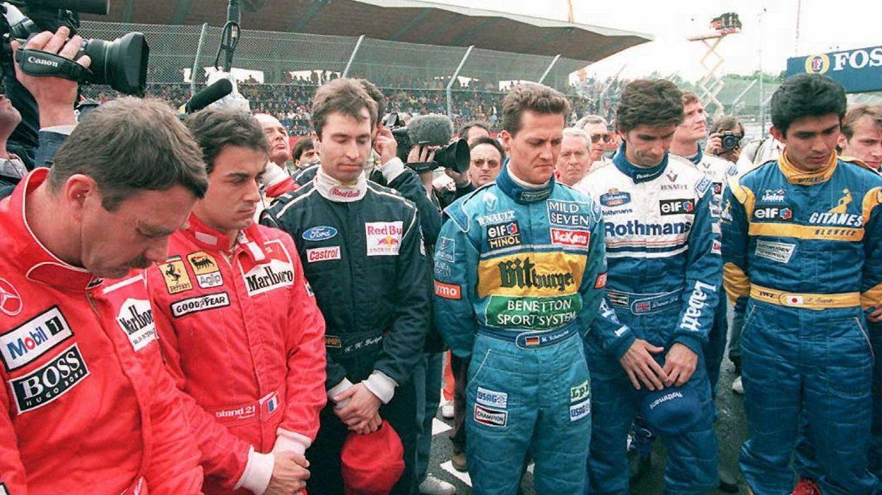 Senna Et Ratzenberger Les Deux Derni 232 Res Victimes De La F1