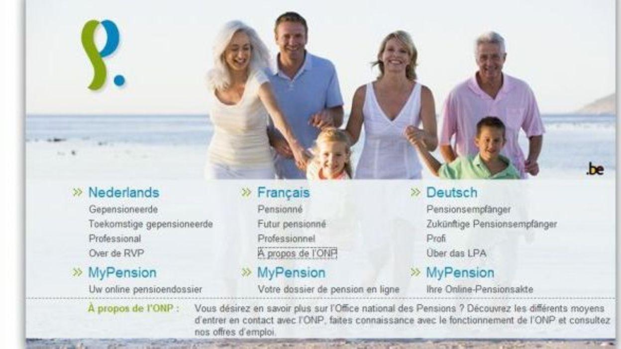 Non au courrier lectronique de l 39 office des pensions pour les seniors - Office des pensions belgique ...