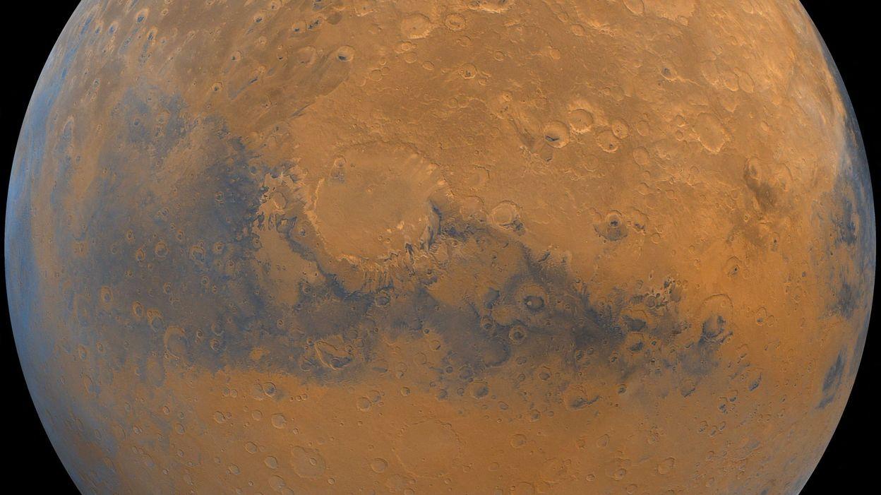 Une vidéo de Mars envoyée par la sonde chinoise Tianwen-1 - RTBF