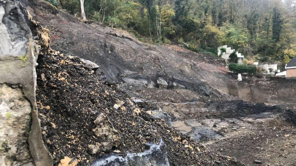 Glissement de terrain à Namur : reprise des travaux en 2020 rue Saint-Martin