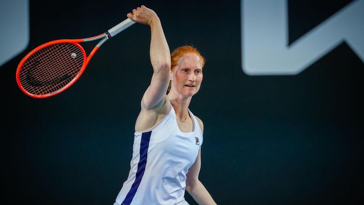Sport Open d'Australie : Alison Van Uytvanck franchit le premier tour - RTBF