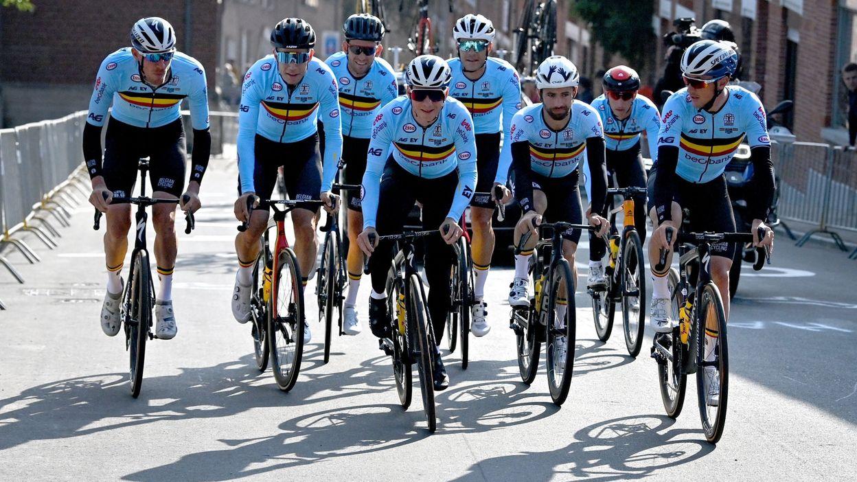 Mondiaux de cyclisme : Wout van Aert et les Belges à l'assaut du titre mondial à Louvain (LIVE vidéo 10H)