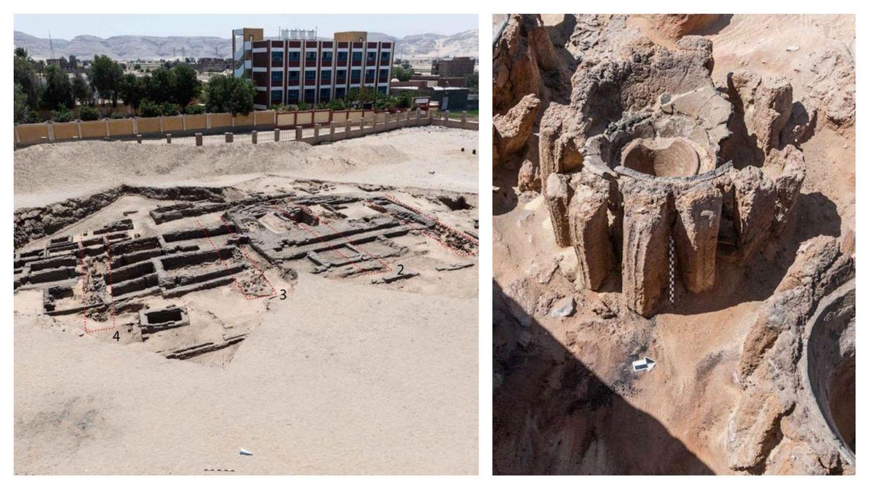 Archéologie : découverte en Egypte de ce qui serait