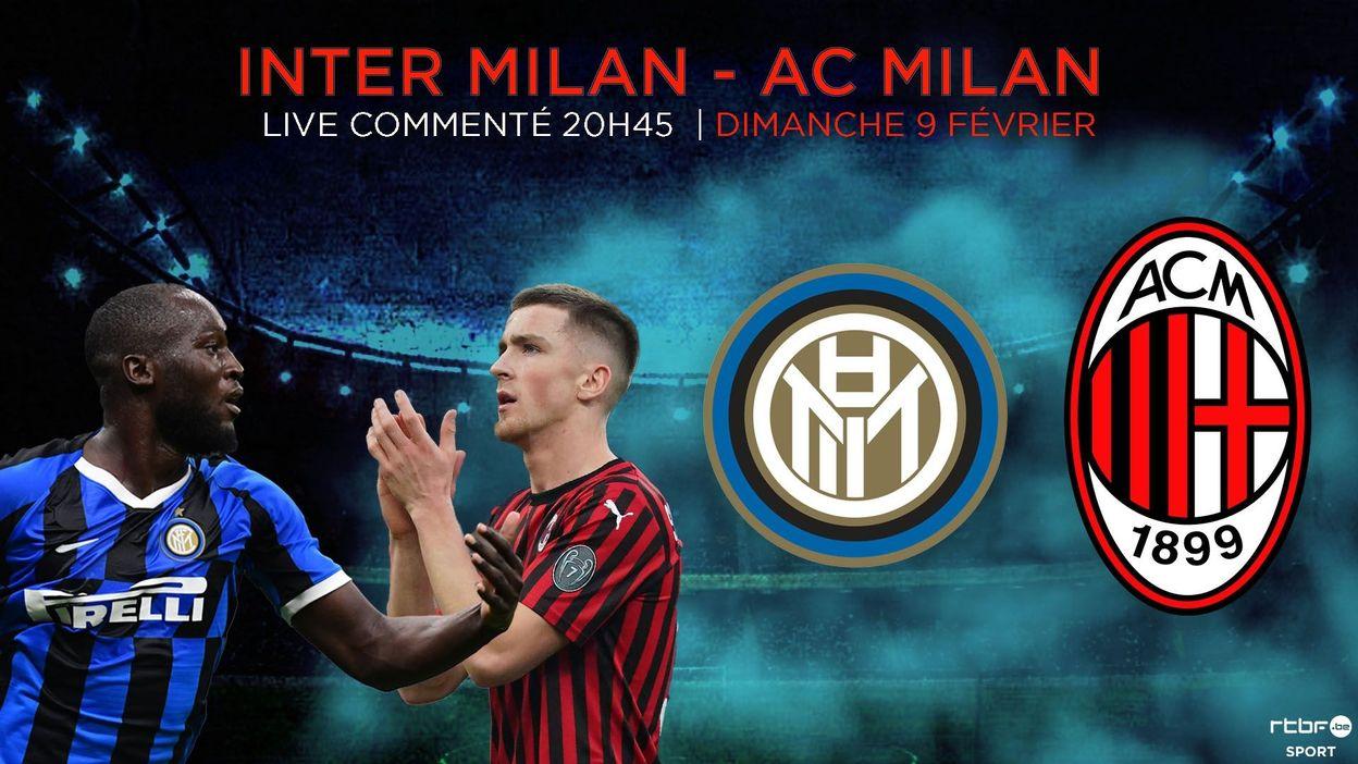 Lukaku ponctue la remontée de l'Inter, vainqueur d'un derby milanais spectaculaire