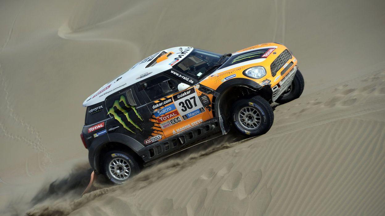 Dakar  Terranova gagne l étape 84789cd4e47