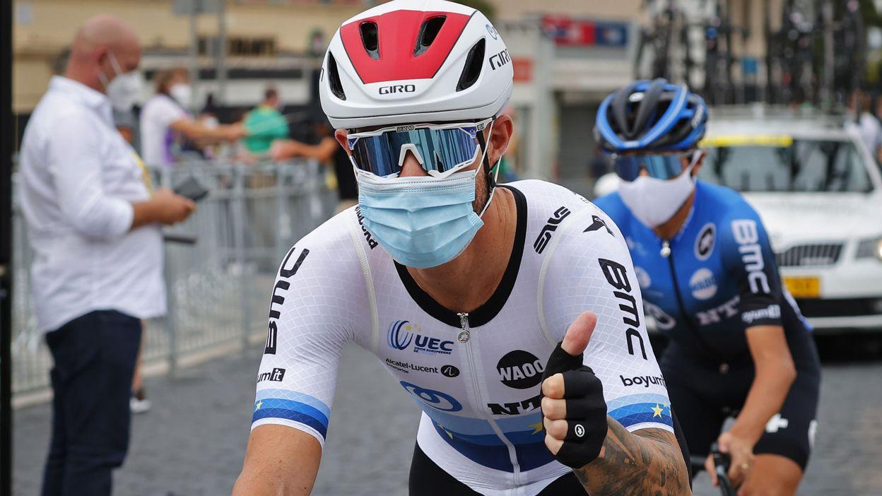 Sport Giacomo Nizzolo s'adjuge la Clasica de Almeria, Timothy Dupont cinquième du sprint massif - RTBF