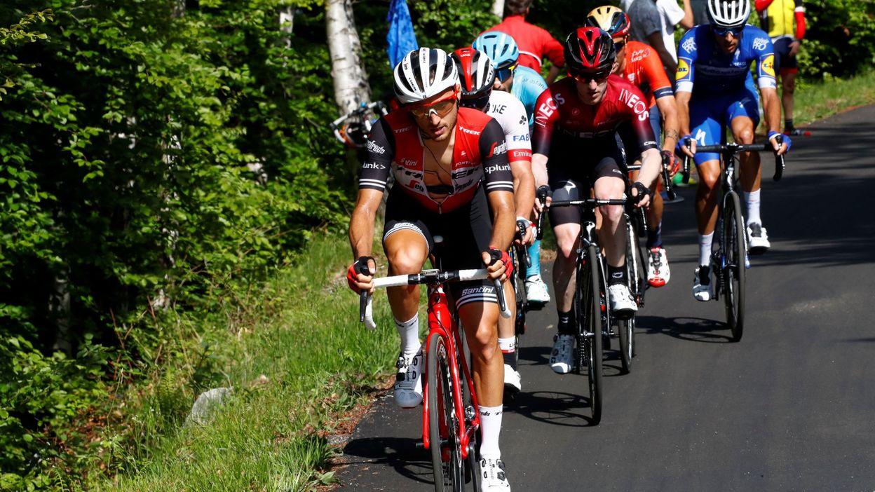 Tour des Alpes-Maritimes et du Var : Brambilla s'impose en solitaire et empoche le classement final - RTBF