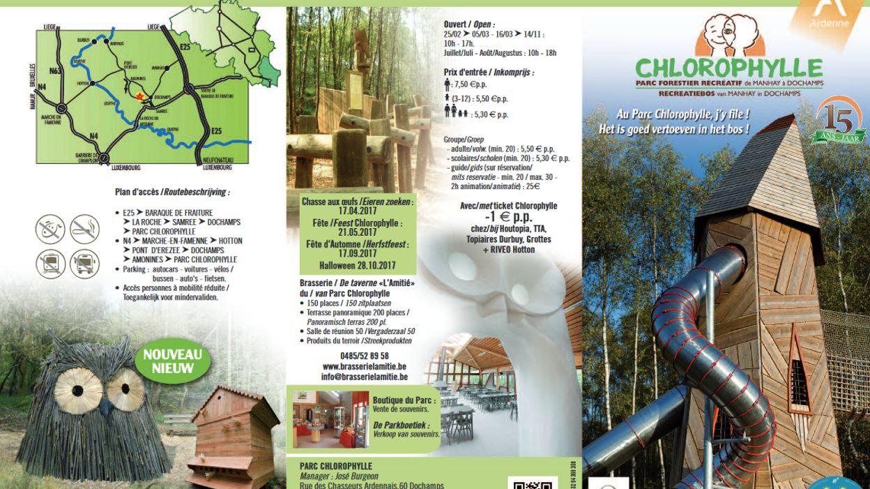 Le parc chlorophylle dochamps vient d 39 ouvrir ses portes pour une nouve - Ouvrir une porte avec une radio ...