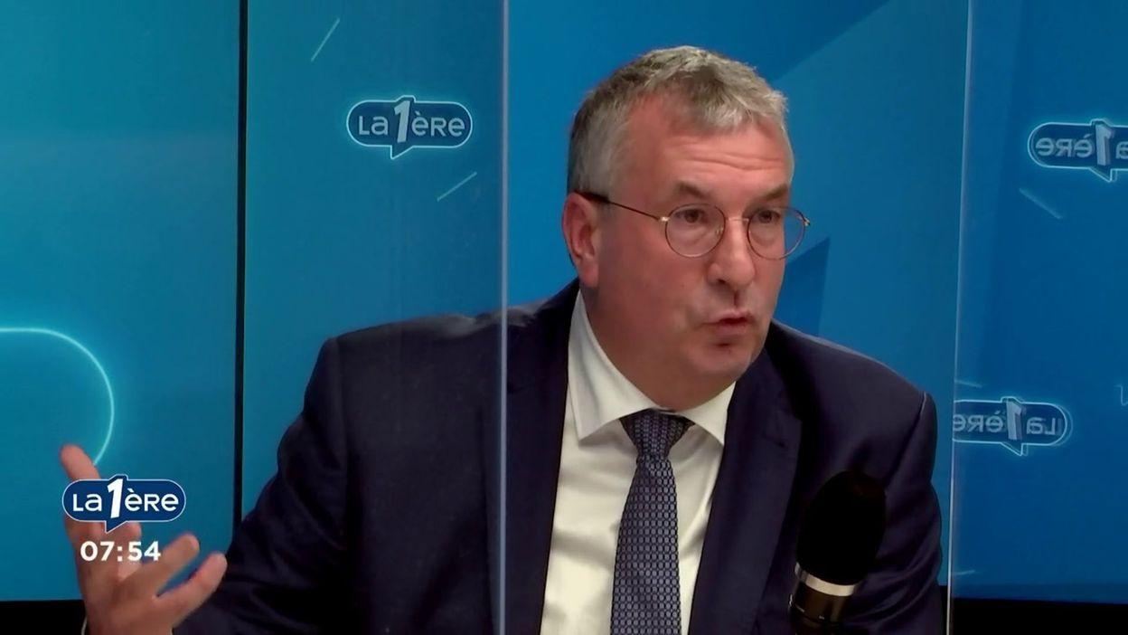 """Pierre-Yves Jeholet (MR), Ministre-Président de la FWB : """"L'argent public, à un moment donné, il y a des limites"""""""