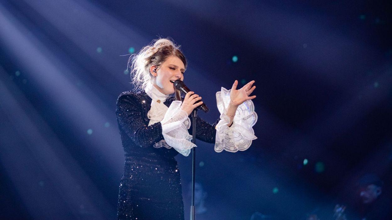The Voice 2021 : Elsa Puls prendre le risque de chanter un titre de Loïc Nottet et c'est époustouflant ! - RTBF