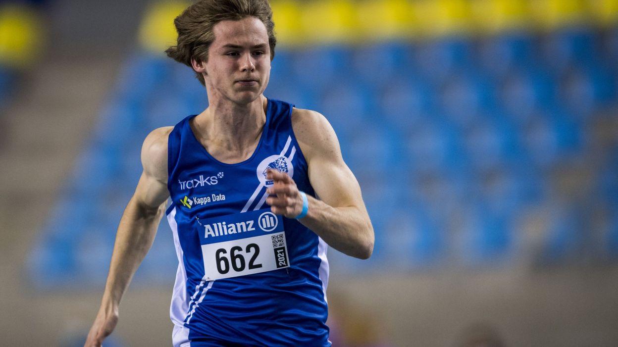 Le Belge Jente Hauttekeete s'empare du record du monde junior de l'heptathlon - RTBF