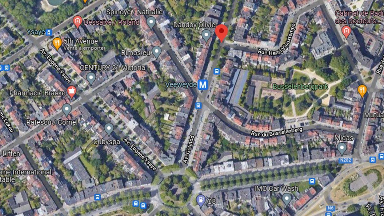 Anderlecht: six maisons déclarées inhabitables après une importante fuite d'eau, les métros doivent ralentir