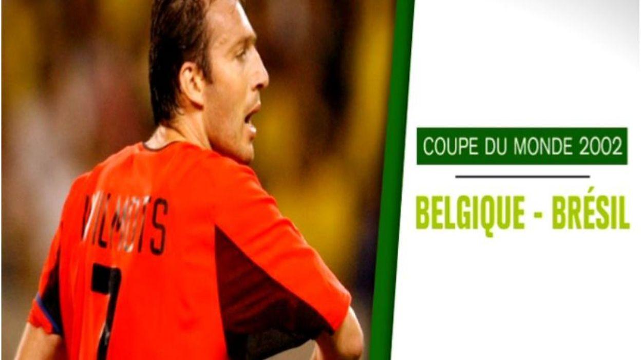 17 juin 2002 wilmots se prend la t te face au br sil - Bresil coupe du monde 2002 ...