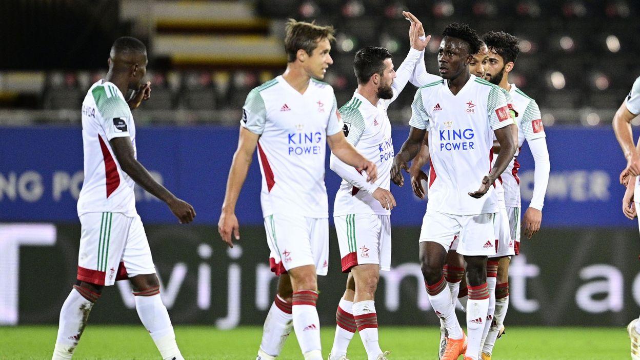 Oud-Heverlee Louvain surprend le Club de Bruges et empoche les trois points